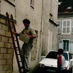 Prise de mesure en 1997 dans un des premiers logement en Essonne