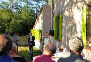 Inauguration le 12 septembre 2014 à Gometz-le-Châtel
