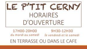 Horaires « Le p'tit Cerny», un café solidaire en plein centre-ville